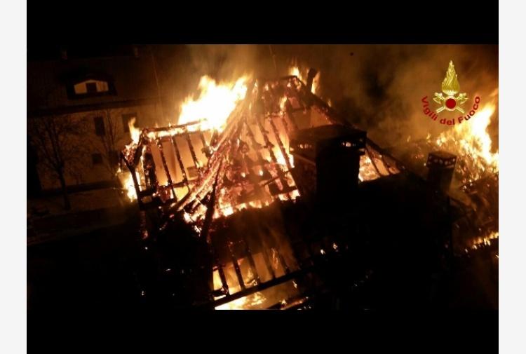 Incendi distrutte 5 abitazione ad asiago tiscali notizie for Alloggi asiago