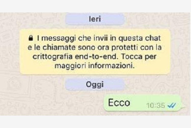 Whatsapp Rivoluzione A Sopresa Dopo Il Caso Apple Chat Criptate