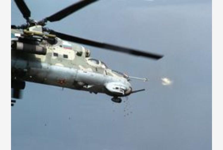 Elicottero Russo : Siria precipita elicottero russo tiscali notizie