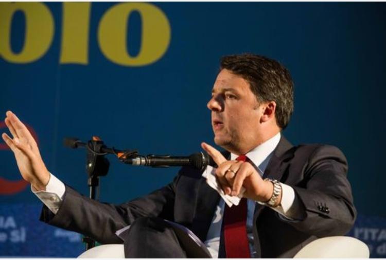 Referendum, Renzi: molto bene incontro con Smuraglia