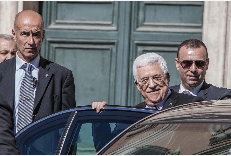 Abbas a Roma per inaugurare l'ambasciata palestinese presso la Santa Sede