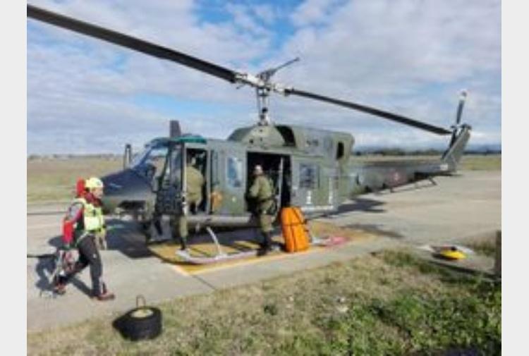 Elicottero Nazista : Elisoccorso salva operai nel nuorese tiscali notizie