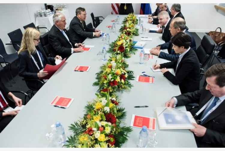 Usa-Russia, Lavrov: Incontro con Tillerson è stato produttivo