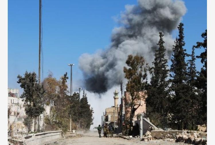 Siria. Attentato alla periferia nordoccidentale di al-Bab: 60 morti