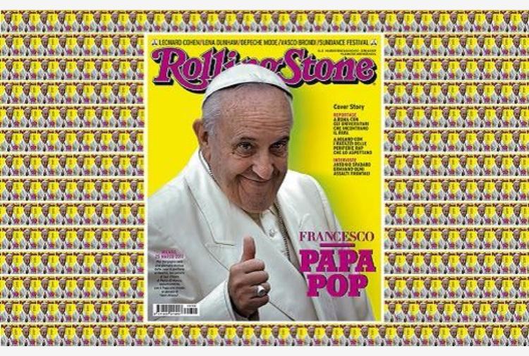 Il Papa sulla copertina di Rolling Stone
