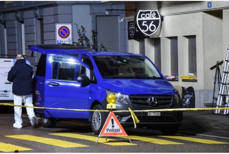 Svizzera, sparatoria a Basilea in un bar: due morti