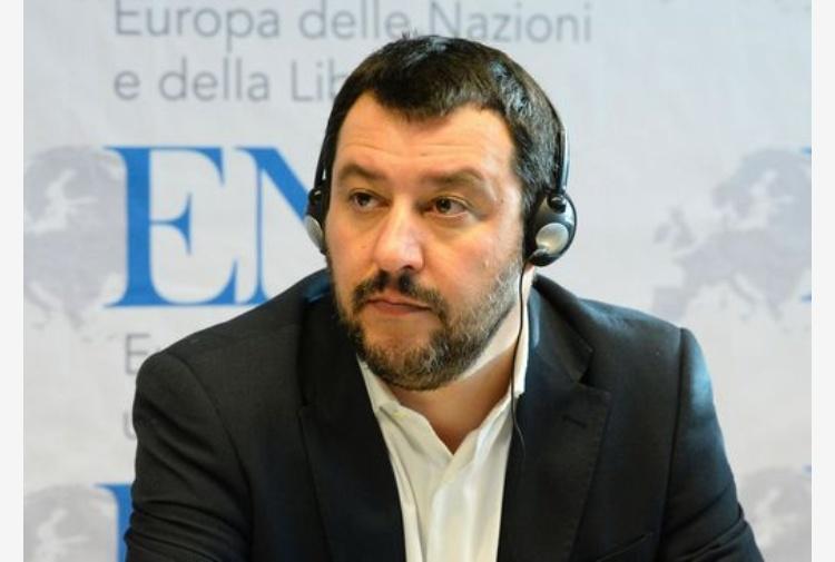 Salvini a Lampedusa: