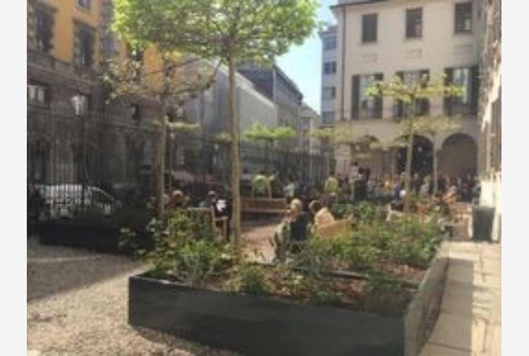 A Milano nuovo giardino Palazzo Reale