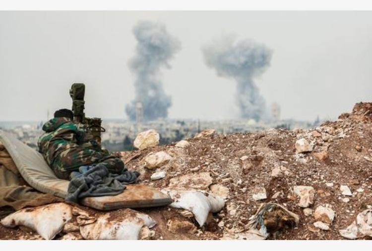Siria: Ong, nuovi raid a Idlib, 72 morti in attacco ieri