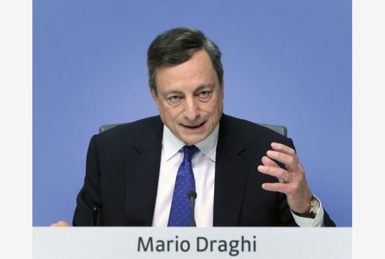 Draghi: l'euro è irrevocabile, lo sanciscono i Trattati europei