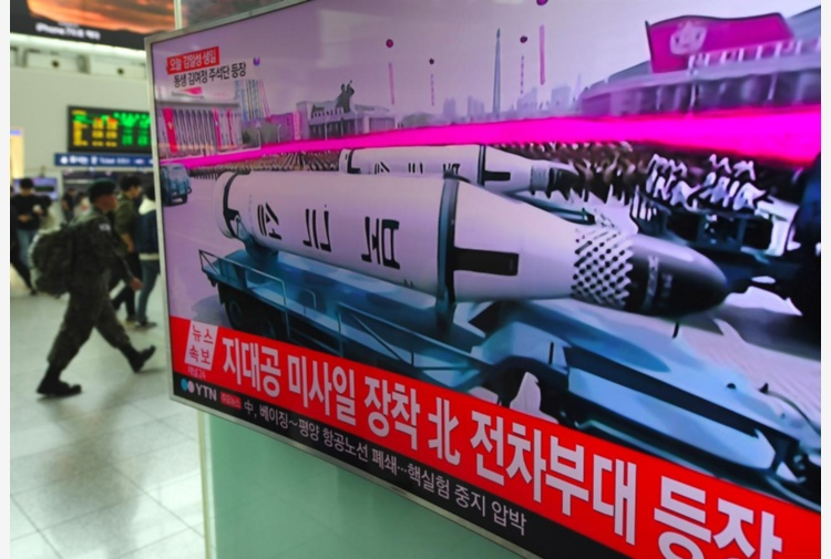 Nuovo missile da Pyongyang