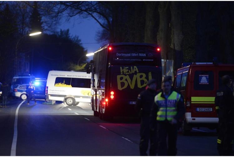 Attacco bus Borussia Dortmund, un arresto