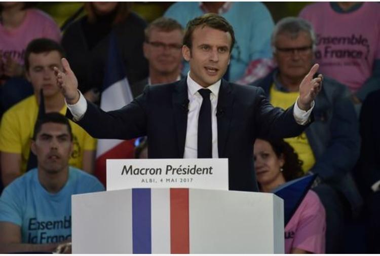 Francia sondaggio Macron vincerà col 62