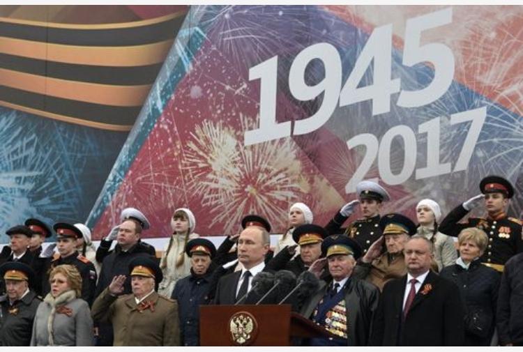 Mosca, parata del 9 maggio per vittoria II Guerra mondiale