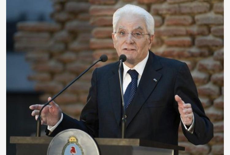 Mattarella: Pianeta è patria terrestre, migranti sono opportunità