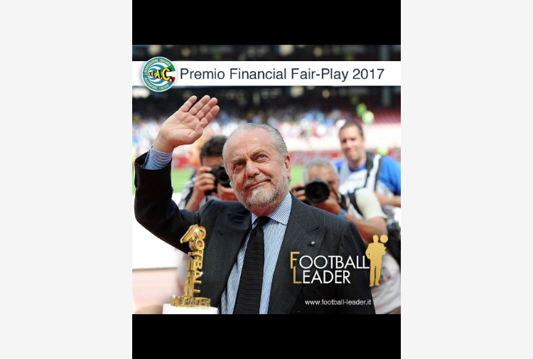 Presidente e ds Napoli 'Football Leader'