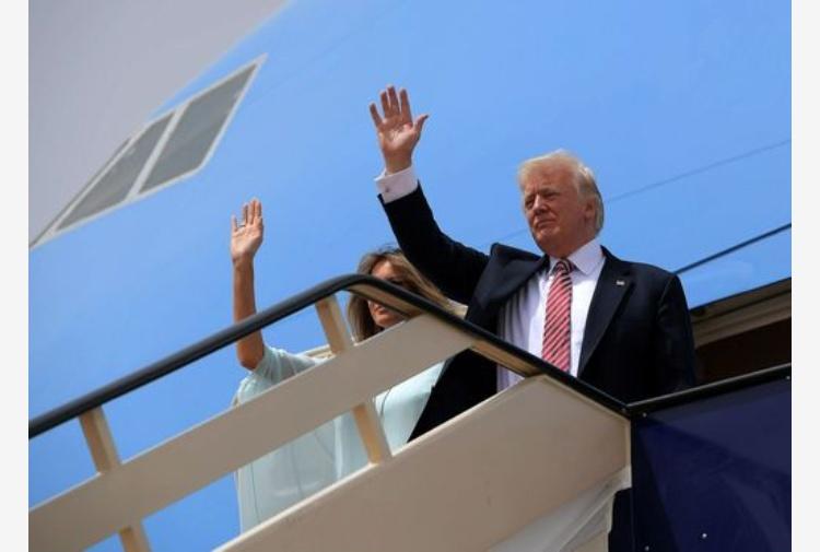 Trump in Israele incontra Netanyahu