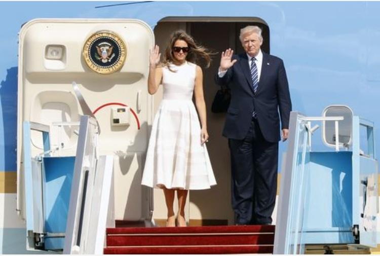 Trump al muro del Pianto, storica visita del presidente Usa