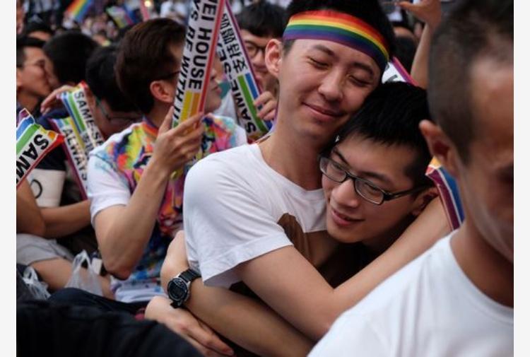 La storica sentenza della Corte costituzionale di Taiwan sui matrimoni omosessuali