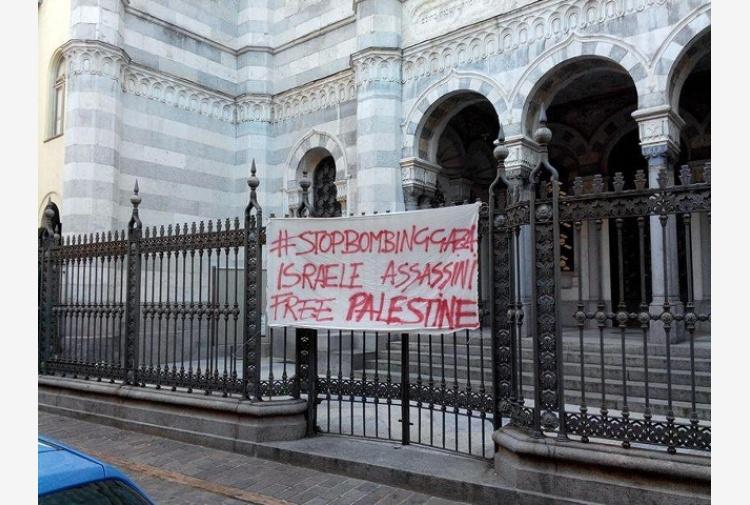 Striscione anti Israele, non è razzismo