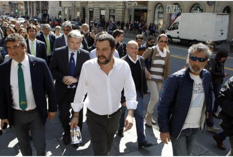 Salvini: 'Centrodestra sia unito, ma Lega alla guida'