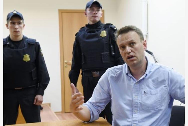 Corteo Mosca, Navalny e altri 300 fermati