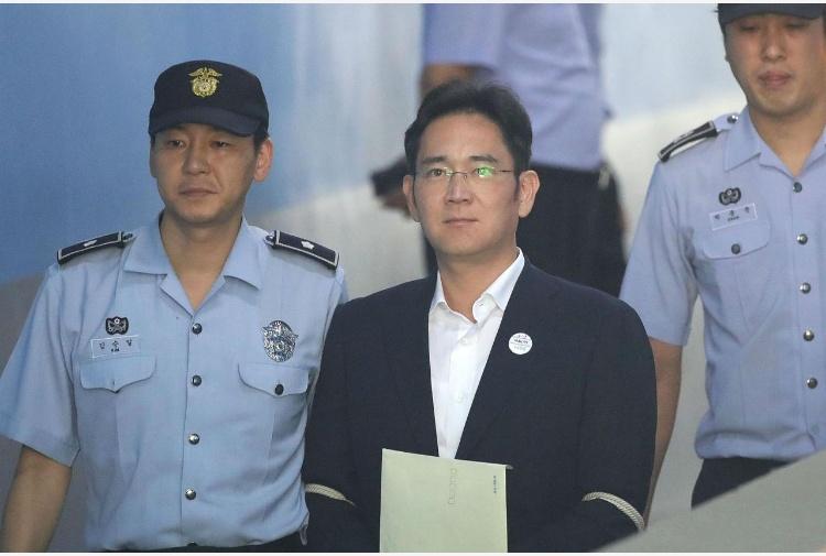 Samsung: condannato a 5 anni Lee Jae-yong, erede dell'impero sudcoreano