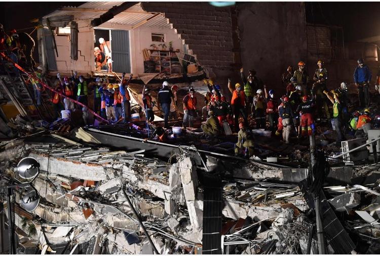 La terra trema ancora in Messico, sisma di magnitudo 6,2