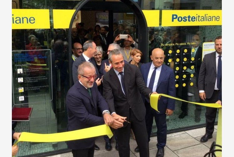 Nuovo Ufficio Postale Milano : Inaugurato a milano il primo ufficio postale del futuro tiscali