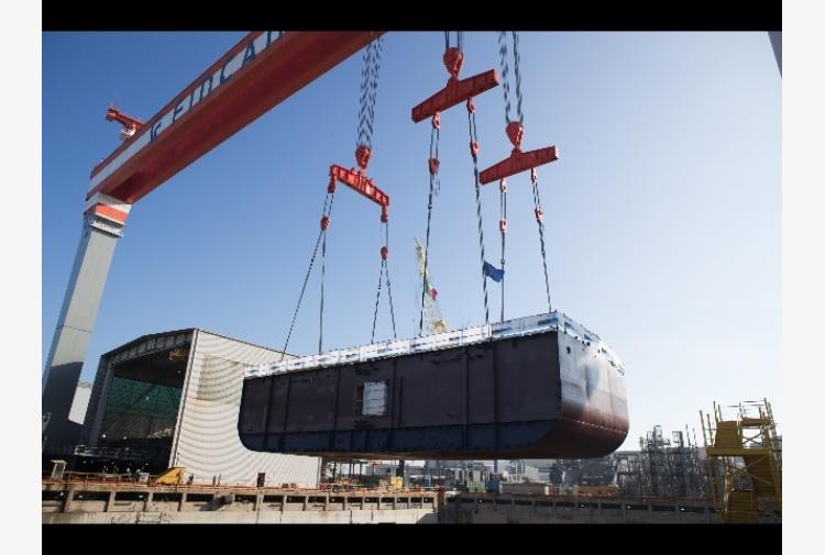 Ficantieri: in bacino lavori nave Viking
