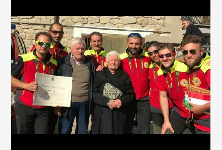 Premio a Soccorso alpino Calabria
