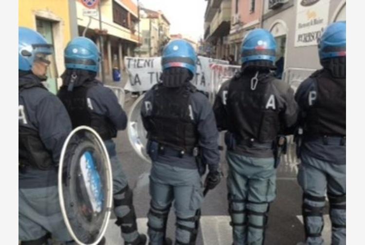 CasaPound Cagliari,tensione antifascisti