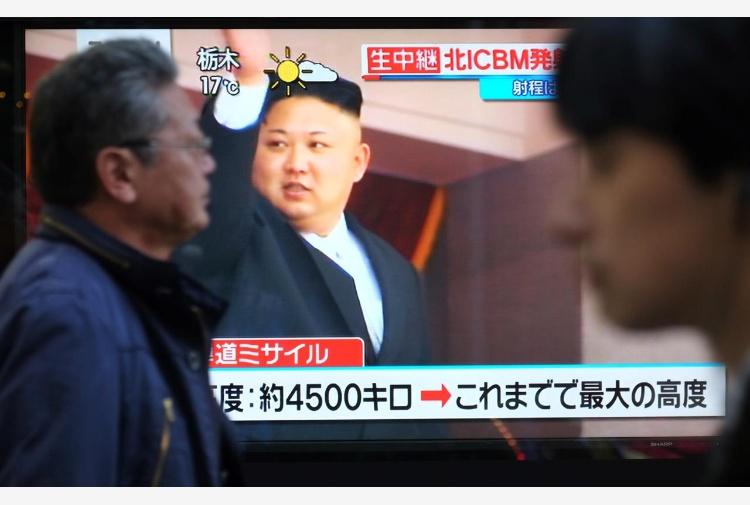 Un aereo della Cathay Pacific ha visto l'esplosione del missile nordcoreano
