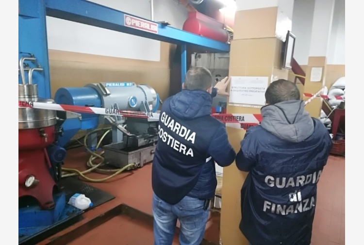 Acque nere in canale,sequestro frantoio