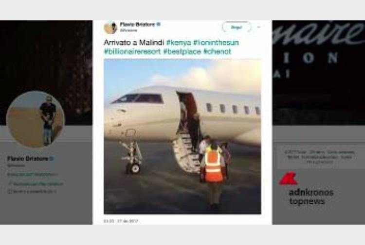 Jet Privato Briatore : Briatore vola a malindi sul jet privato tiscali notizie