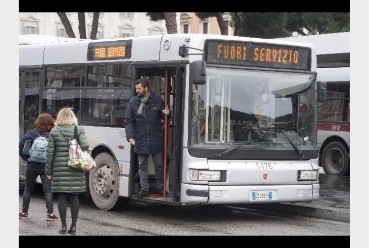 Roma adesione a sciopero atac del 23 tiscali notizie for Roma mobile atac
