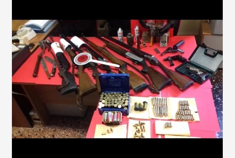 Sequestrate a Lavagna armi e hashish