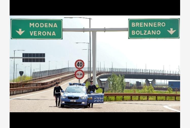 Controlli Polstrada Trento su velocità, 11 multe in 24 ore
