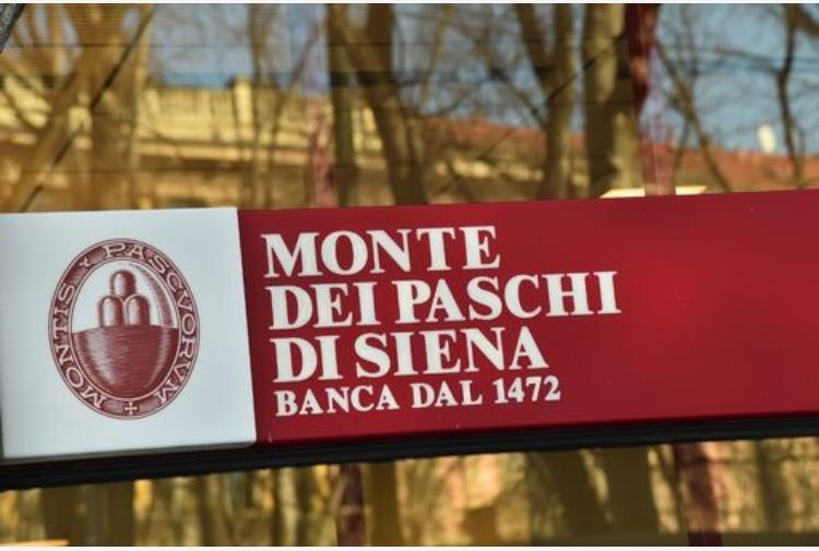 Mps: utile netto semestrale a 289 mln di euro