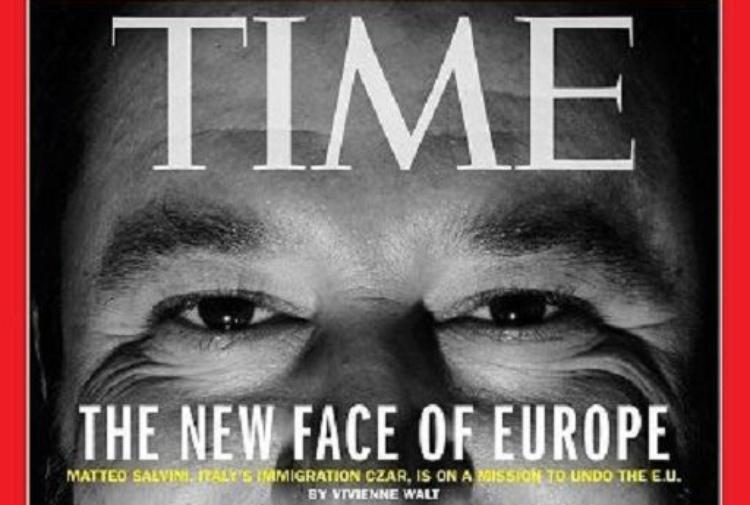 Time incorona Matteo Salvini