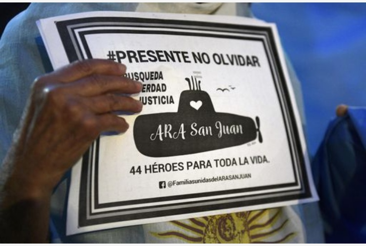 Argentina, ritrovato il sottomarino ARA San Juan
