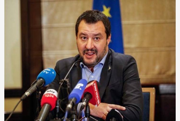 Salvini dopo l'attentato di Strasburgo: