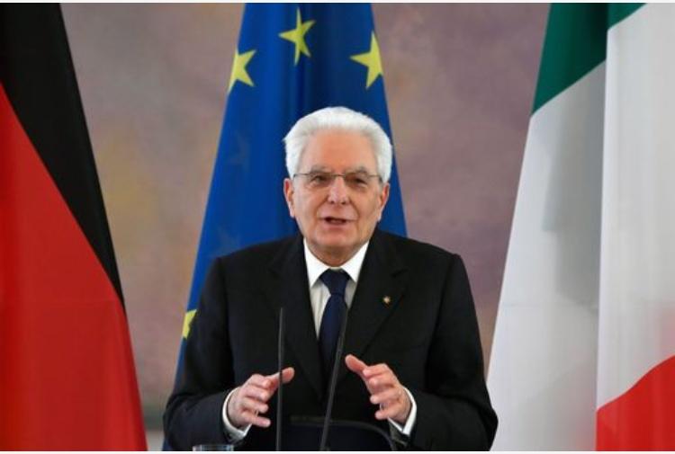 Ue: Mattarella, 'confronto e dialogo per trovare soluzioni'