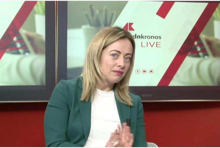 Giorgia Meloni e il reddito di cittadinanza