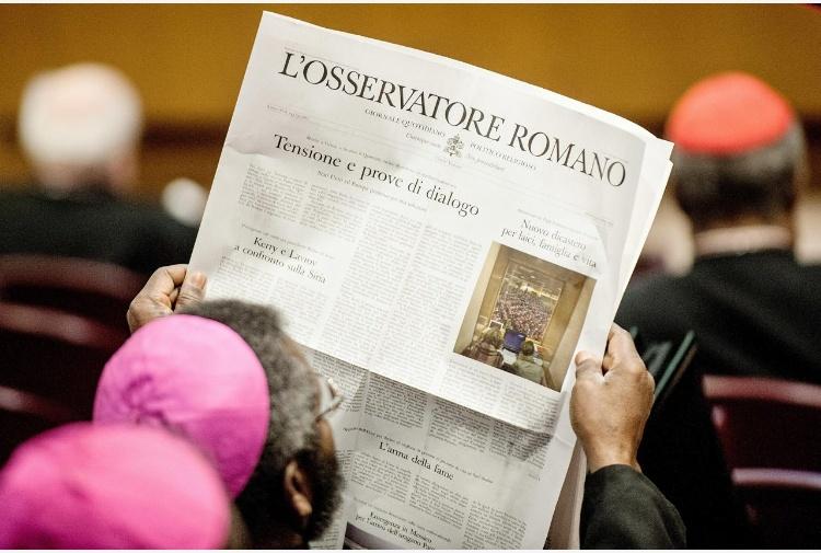 'Ci sentiamo delegittimate'.11 donne lasciano la redazione del mensile dell'Osservatore Romano