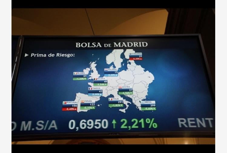 6ded9ea48f Borsa: finale fiacco Europa,Milano +0,1% - Tiscali Notizie