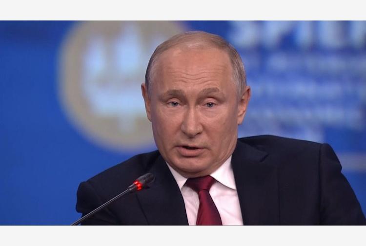 Intesa Conte e Putin: