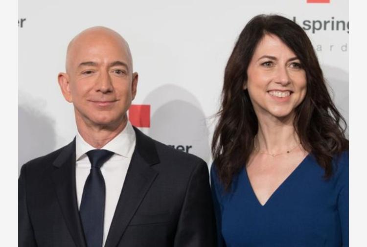 Per Bezos un divorzio da 38 miliardi