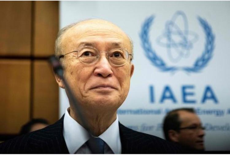 E' Morto Amano il direttore dell'Agenzia internazionale dell'energia atomica