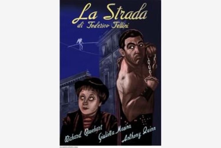 Top Le locandine dei film di Fellini in cinque tavole a fumetti DZ65